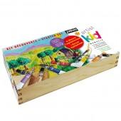 Kids colori acrilici pebeo kids, cassetta in legno colori acrilic kids prezzi online