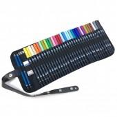 Confezione a rotolo con 34 Pennarelli Tombow Dual Brush e accessori