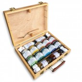 valigetta pigmenti per pittura, prezzi pigmenti in polvere