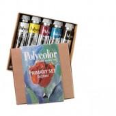 STARTER SET Maimeri Polycolor, confezione 5 colori acrilici da 20ml