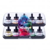 Confezione 10 Ecoline 30ml - Mixing Colours