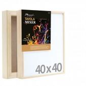 40x40 Tavola MIXER, per tecnica mista - Phoenix - per pouring e resina