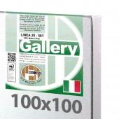100x100 cm - Tela per pittura pronta - Pieraccini linea Gallery 20/561 - Made in Italy