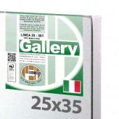 25x35 cm - Tela per pittura pronta - Pieraccini linea Gallery 20/561 - Made in Italy
