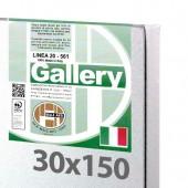 30x150 cm - Tela per pittura pronta - Pieraccini linea Gallery 20/561 - Made in Italy