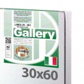 30x60 cm - Tela per pittura pronta - Pieraccini linea Gallery 20/561 - Made in Italy