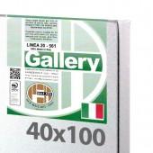 40x100 cm - Tela per dipingere pronta - Pieraccini linea Gallery 20/569 - Made in Italy