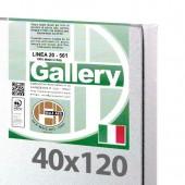 40x120 cm - Tela per pittura pronta - Pieraccini linea Gallery 20/569 - Made in Italy