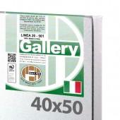 40x50 cm - Tela per pittura pronta - Pieraccini linea Gallery 20/561 - Made in Italy