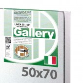 50x70 cm - Tela per dipingere pronta - Pieraccini linea Gallery 20/561 - Made in Italy
