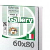60x80 cm - Tela per dipingere pronta - Pieraccini linea Gallery 20/561 - Made in Italy