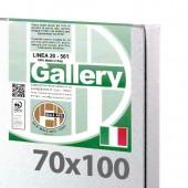 70x100 cm - Tela per dipingere pronta - Pieraccini linea Gallery 20/561 - Made in Italy