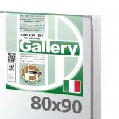 80x90 cm - Tela per pittura pronta - Pieraccini linea Gallery 20/561 - Made in Italy