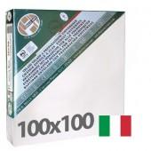 tele per dipingere 100x100 cm - Tela per pittura pronta a spessore ALTO - Pieraccini linea 37 MAXI