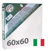 tele per dipingere 60x60 cm - Tela per pittura pronta a spessore ALTO - Pieraccini linea 37 MAXI