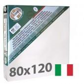 tele per dipingere  80x120 cm - Tela per pittura pronta a spessore ALTO - Pieraccini linea 37 MAXI