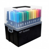 Confezione 108 Pennarelli Tombow Dual Brush Marker Case Special Edition