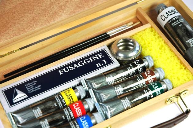 cassetta in legno colori a olio maimeri classico, prezzi colori classico maimeri