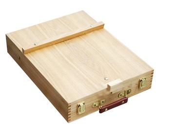 Cassetta cavalletto in legno per pittura, cassette legno vuote pittura