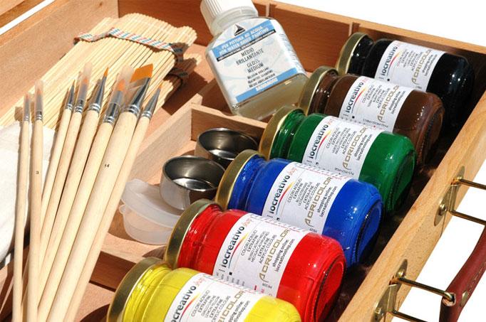 cassette colori acrilici prezzi comprare colori acrilici confezione cassette prezzi cassette acrilici colori