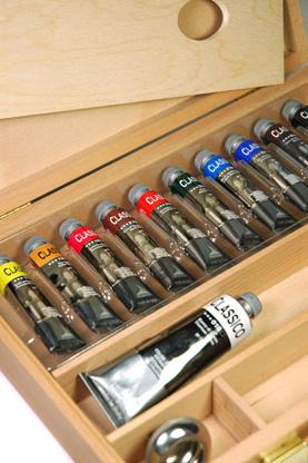 Confezione colori a olio Maimeri Classico in cassetta colori a olio