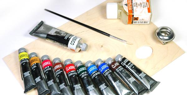 Confezione colori a olio Maimeri Classico, cassetta colori a olio offerta