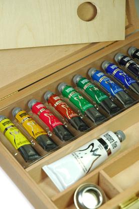 Confezione colori a tempera Maimeri, tempera Maimeri Tempera fine, comprare online cassette colori