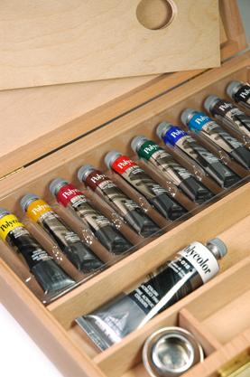 Colori acrilici Maimeri, Maimeri acrilici Polycolor, comprare online cassette colori acrilici Maimeri