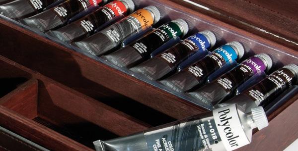 polycolor prezzi polycolor online cassetta colori acrilici polycolor maimeri, colori a olio Maimeri, comprare colori Maimeri