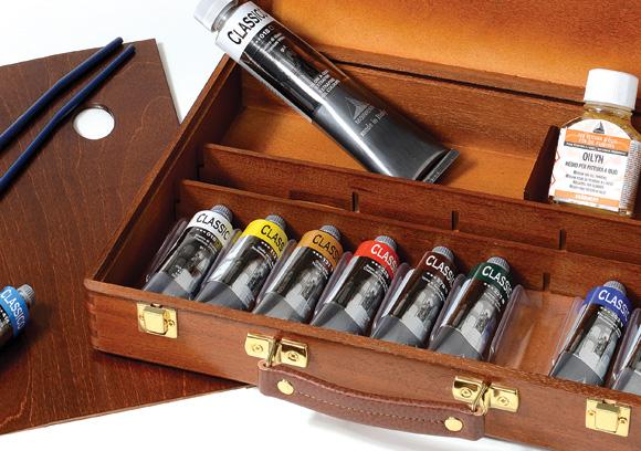 cassetta colori a olio Maimeri offerta, prezzi colori a olio miameri classico, comprare colori