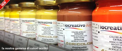 storico negozio di belle arti a firenze, colori acrilici maimeri