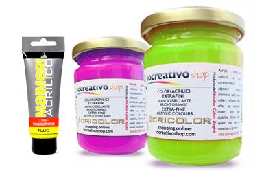 colori acrilici fluo colori acrilici fosforescenti prezzi colori acrilici