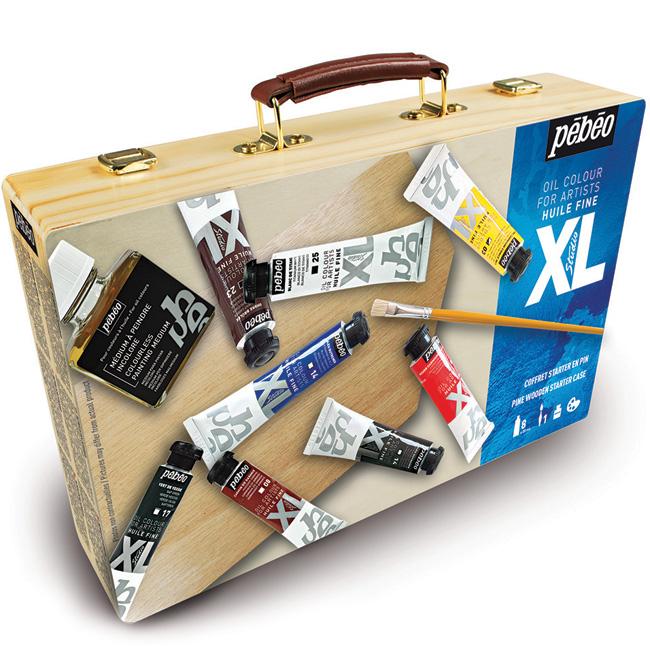 confezione a olio acrilici, cassetta colori a olio , comprare colori a olio , cassette colori a olio  online