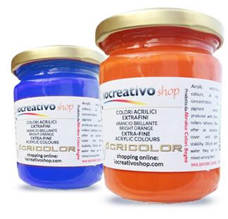 colori acrilici scegliere