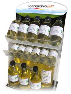 solvente ecologico, diluente vegetale, essenza di trementina, vernice damar, vernice finale, vernice lucida, prezzi ausiliari maimeri