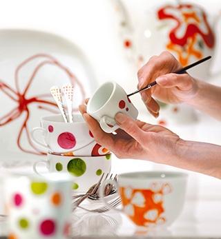colori acrilici per ceramica e porcellana pebeo porcelaine 150