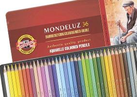 matite acquarellabili sfuse koh i noor mondeluz pastelli sfusi