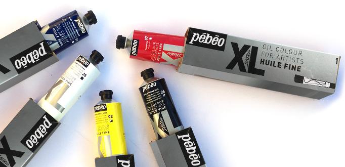 Colori a olio 200ml colori a olio tubo grande colori a olio grande formato Pebeo offerta