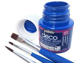 colori acrilici Pebeo Deco, colori Pebeo deco colori acrilici lucidic per decorazione
