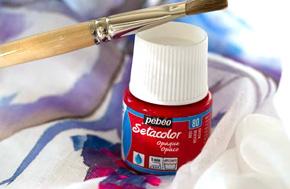 colori per la stoffa setacolor PEBEO colori pebeo stoffa