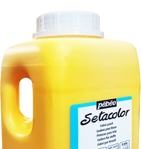 pebeo setacolor 1 litro 1000ml colori per stoffa setacolor