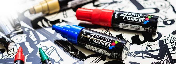 pennarelli acrilici colori acrilici pebeo