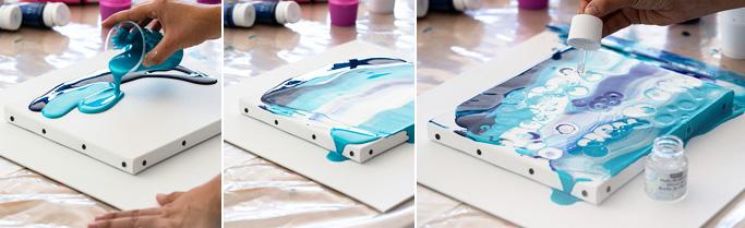 pouring medium prezzi prodotti pouring comprare colori acrilici