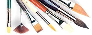 pennelli da vinci, pennelli tintoretto, da vinci 1670, da vinci serie 1870 tintoretto serie 707, tintoretto serie 708
