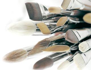 pennelli colori acrilici, pennelli per acquerello