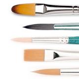 pennelli per colori acrilici