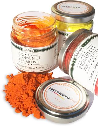 pigmenti in polvere pigmenti per dipingere pittura
