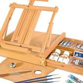 cavalletti per dipingere spatole per pittura tavolozzecavalletti da campagna esposizione