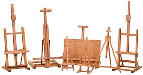 cavalletti in legno per pittura cavalletti per esposizione cavalletti per mostre negozio belle arti firenze