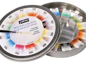 colori acquarello pebeo set colori ad acquarello confezioni colori ad acquarello negozio belle arti firenze